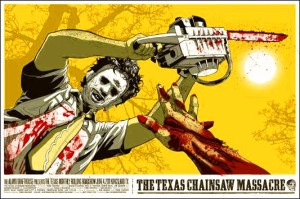 chainsaw massacre poster
