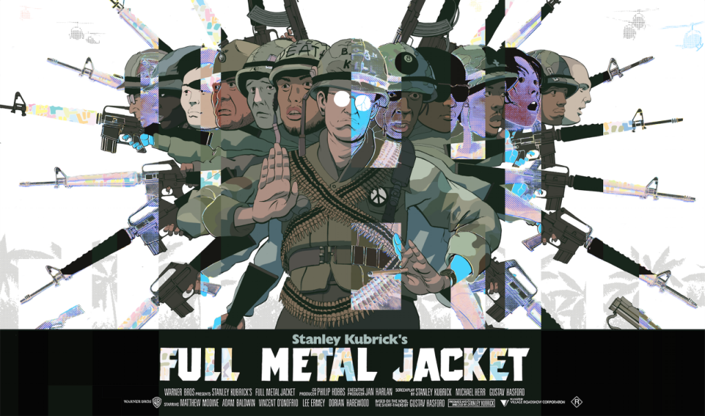 full metal jacket movie review essay